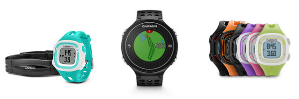 garmin running golfing watches