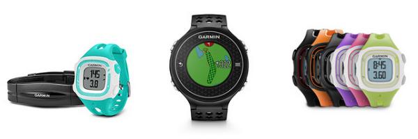 garmin running golfing watches