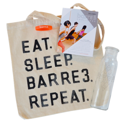 barre3 challenge package